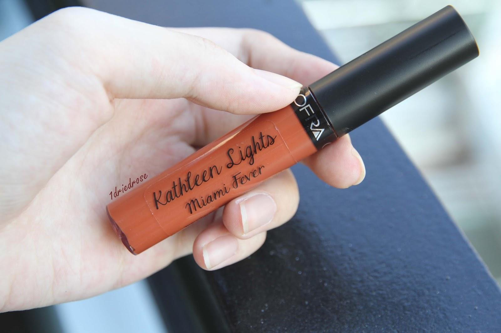 Ofra Liquid Lipstick - Màu Miami Fever