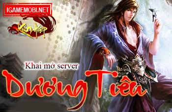 Kiếm Hiệp mở cửa server Dương Tiêu