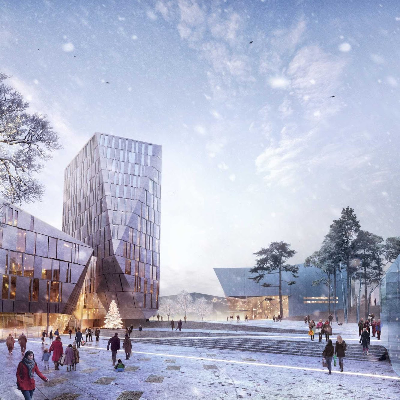 Straume, Norvegia: Straume Design Competition by Haptic Architects