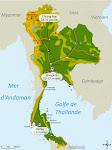 Thaïlande: itinéraire du voyage