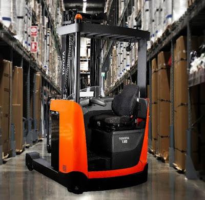 Reach truck ngồi lái 1.2 – 1.6 tấn