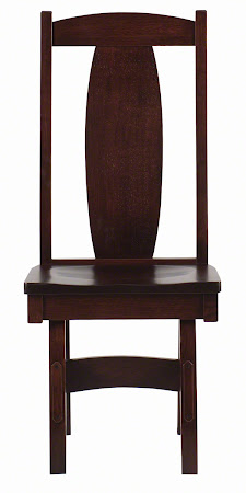 Breton Dining Chair in Rich Cherry