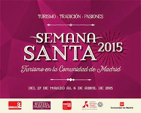 Semana Santa 2015 en la Comunidad de Madrid