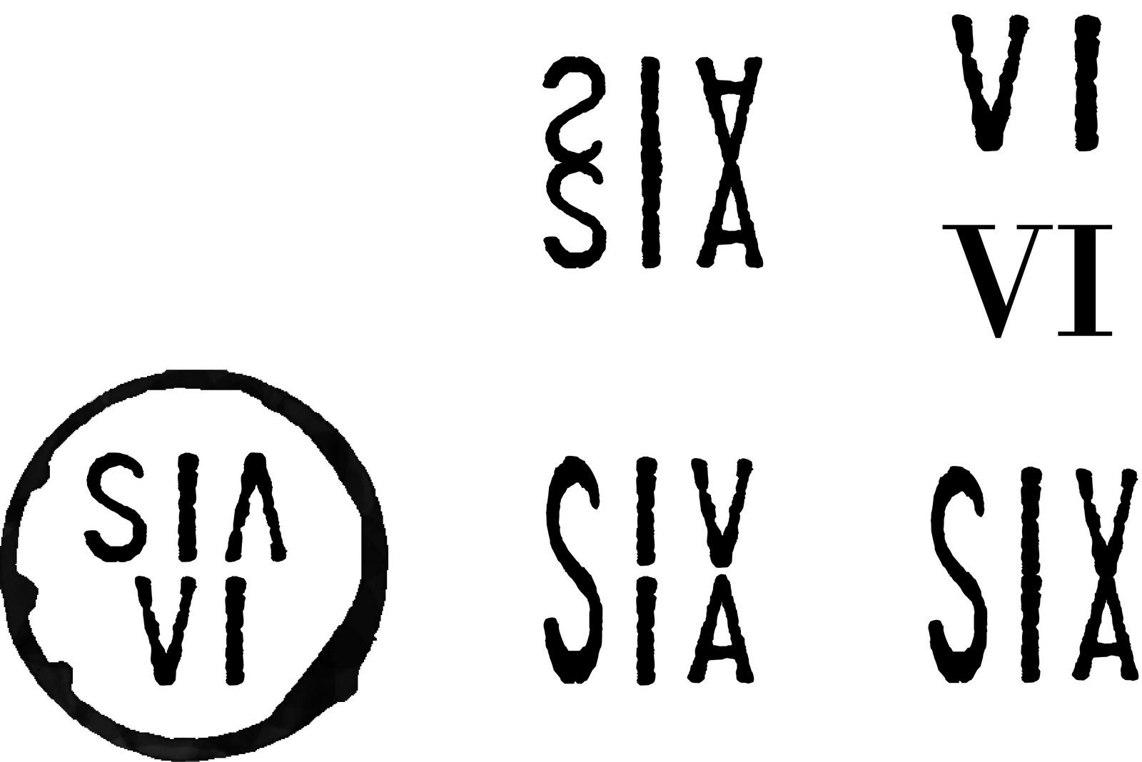 Roman Numeral 12 Incorporate roman numerals