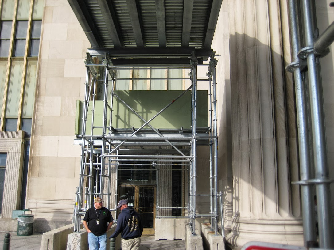Amtrak, Superior Scaffold, rental, scaffolding, Philadelphia, construction, inspection, 215) 743-2200, 36