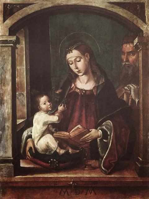 Pedro Berruguete - Holy Family