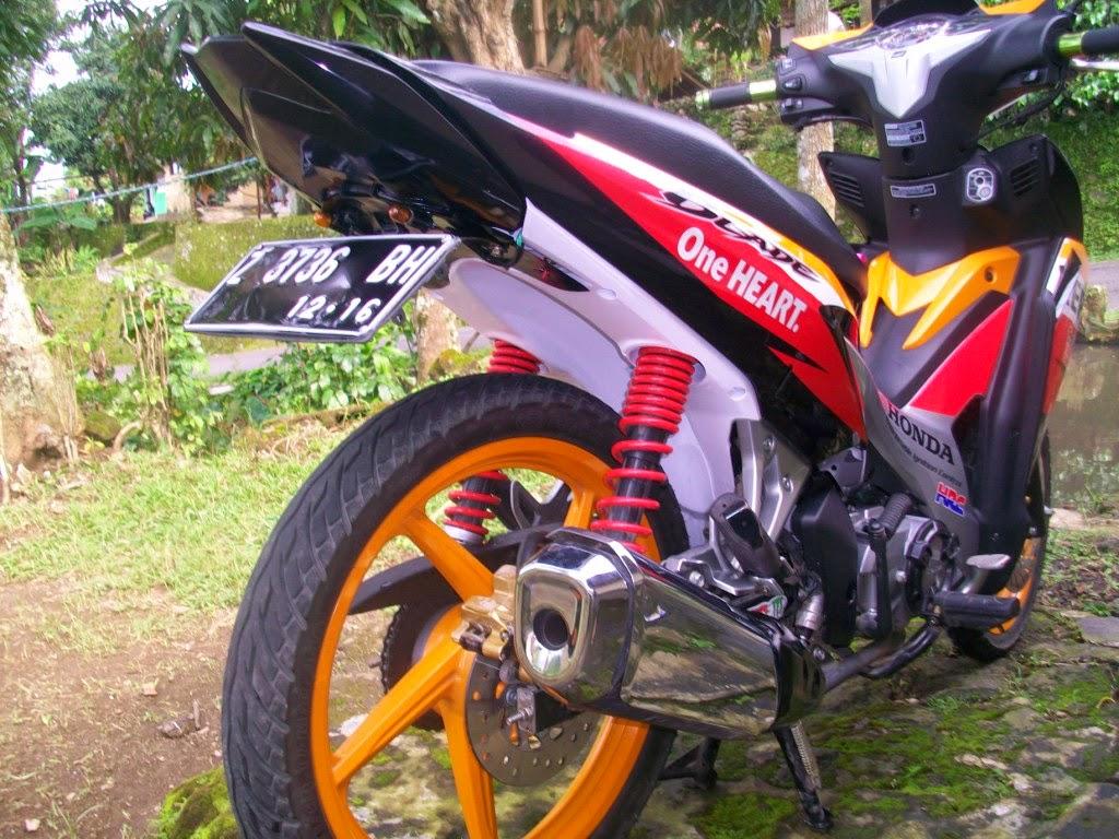 Foto Modifikasi Motor Honda Blade Repsol Thecitycyclist