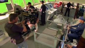 On the set of Battleship: Rocking the Boat