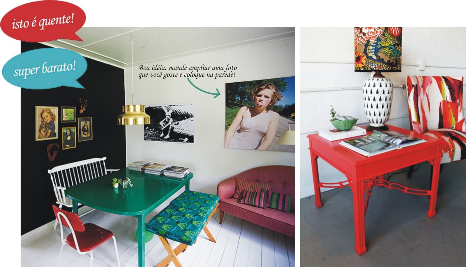 Móveis usados: renove com pintura! *Vista a Casa! por MesklaDesign #A42727 1600x920