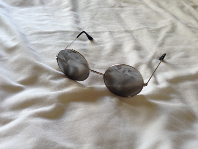 Primark Mirror Reflective Round Sunglasses