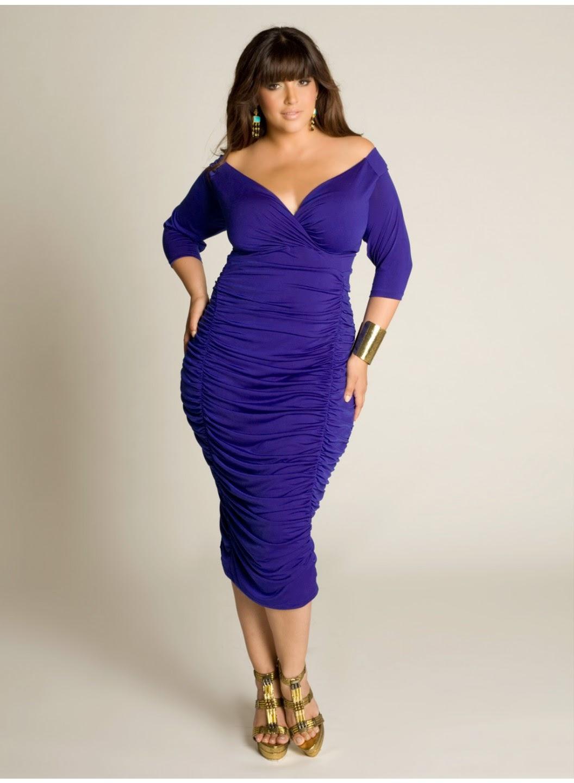 Grandiosos vestidos de noche para señores gorditas | Vestidos de ...
