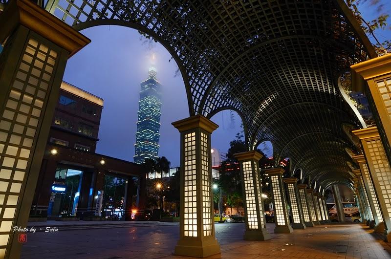 台北 國泰金 夜景 101 攝