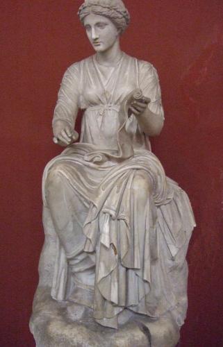 Goddess Kleio Image