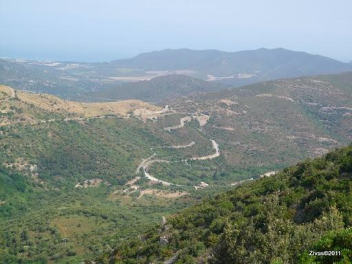 Strada dopo Belgodere
