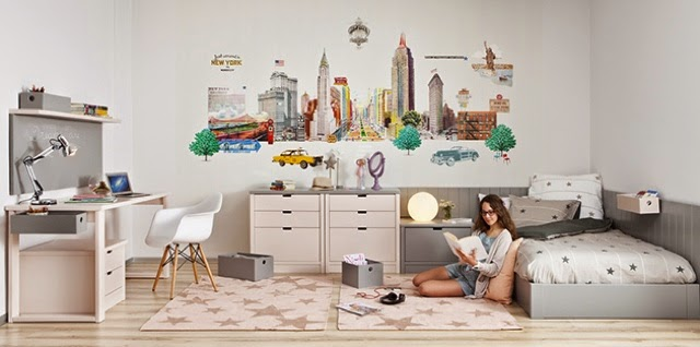 Dormitorio juvenil chica for Habitaciones juveniles a medida