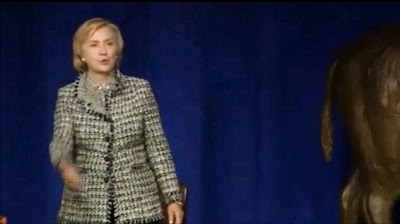 Hillary Clinton heckled over Benghazi-gate