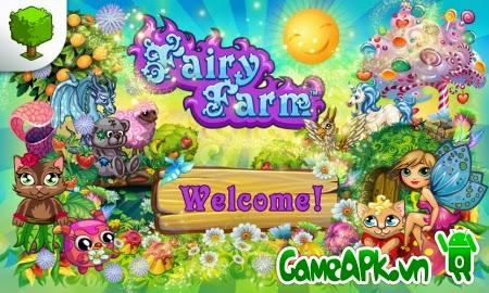 Fairy Farm v2.5.2 hack full tiền xu và đá quý cho Android