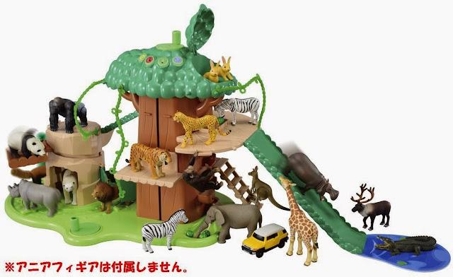 Hình ảnh sắc nét của bộ đồ chơi mô hình Khu vận động Big Action Tree