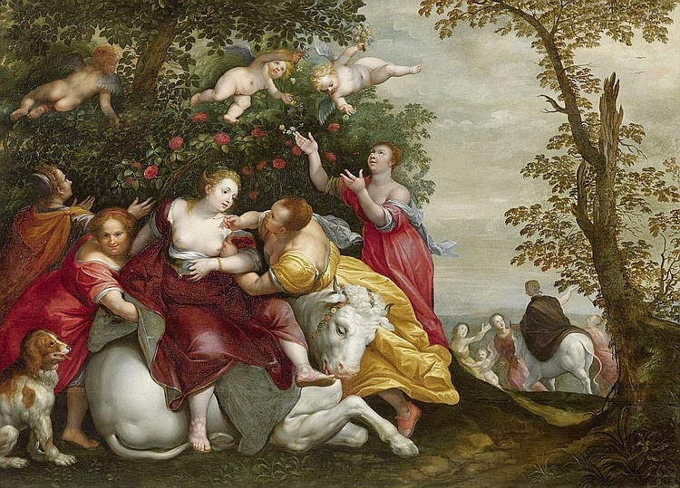 Hans Rottenhammer - The Rape of Europa