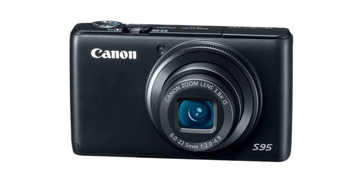 Thumbnail image for Canon PowerShot S95 10 MP Digital Camera with 3.8x Wide Angle Optical Image Stabilized Zoom and 3.0-Inch LCD