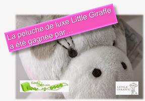 peluche little giraffe jeu-concours