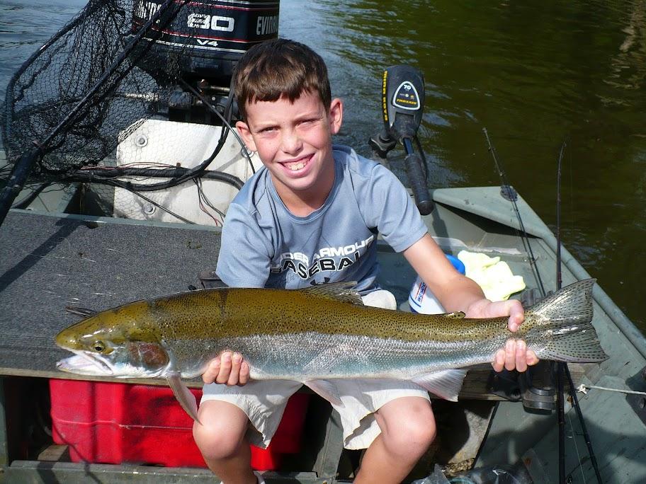 Skamania Steelhead Big Manistee River Fishing Guide