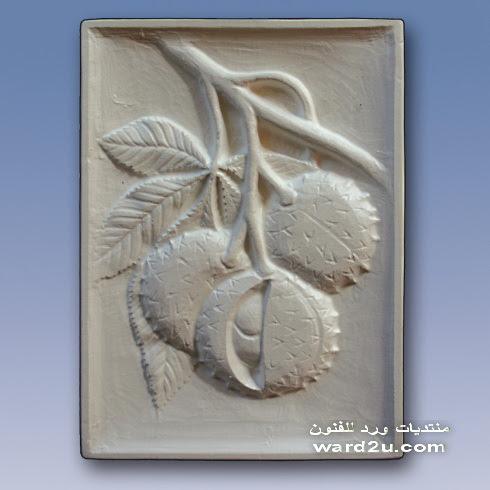 اجمل لوحات الريليف البارز من الجبس
