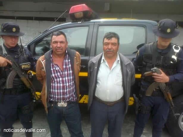 Capturados por orden judicial