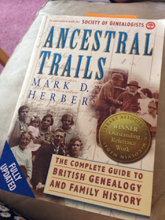 Full Circle Family History Blog: 5 on a Friday - Genealogy Books Ancestral Trails by Mark D Herber