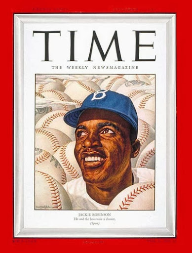 Jackie Robinson in Time Magazine