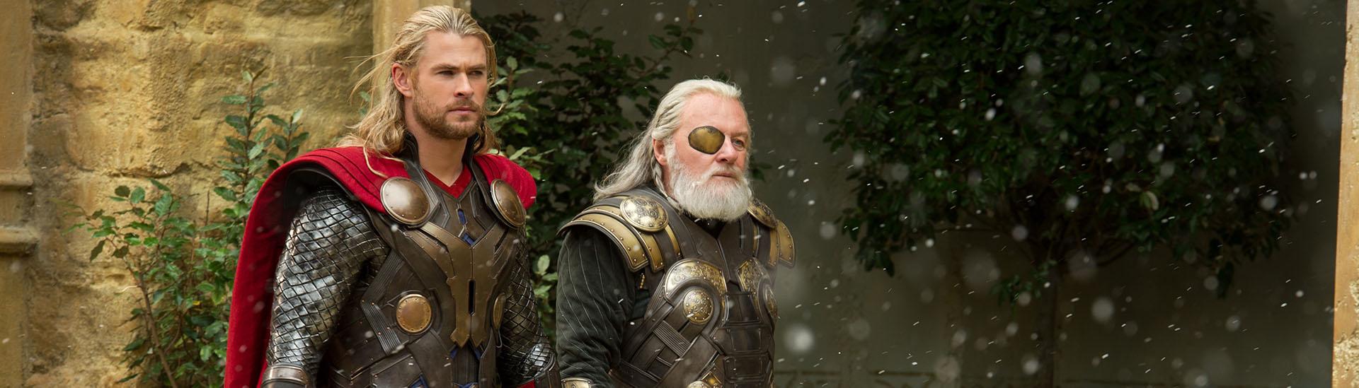 Baner filmu 'Thor: Mroczny Świat'