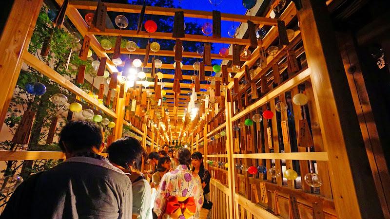 川越氷川神社 風鈴回廊 写真17