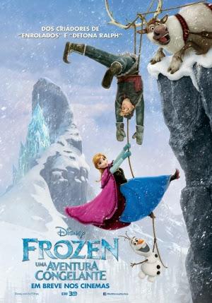 Filme Poster Frozen – Uma Aventura Congelante DVDSCR XviD Dual Audio & RMVB Dublado