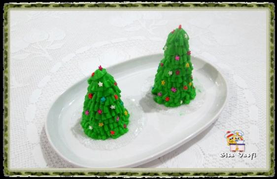 Árvore de natal de casquinha de sorvete 2