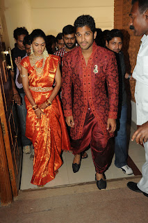 allu arjun wedding reception gallery telugu young superstar allu arjun ...