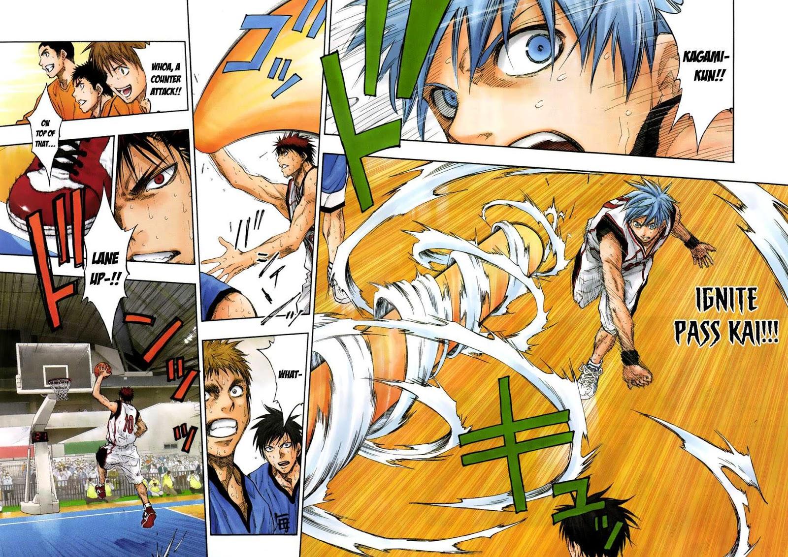 Kuroko no Basket Manga Chapter 196 - Image 12-13