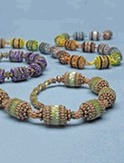 Fragrant Beaded Beads by Deni Whaley