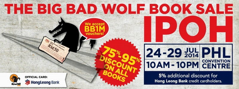 Announcement: 1st Big Bad Wolf Book Sale in Ipoh
