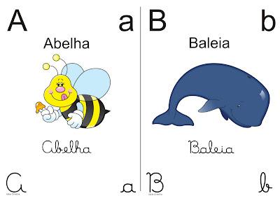 Alfabeto 4 Tipos de Letra Super Cute -  Ideia Criativa