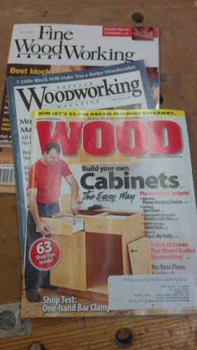 Fine Woodworking, Popular Woodworking and Wood Magazines are on board!