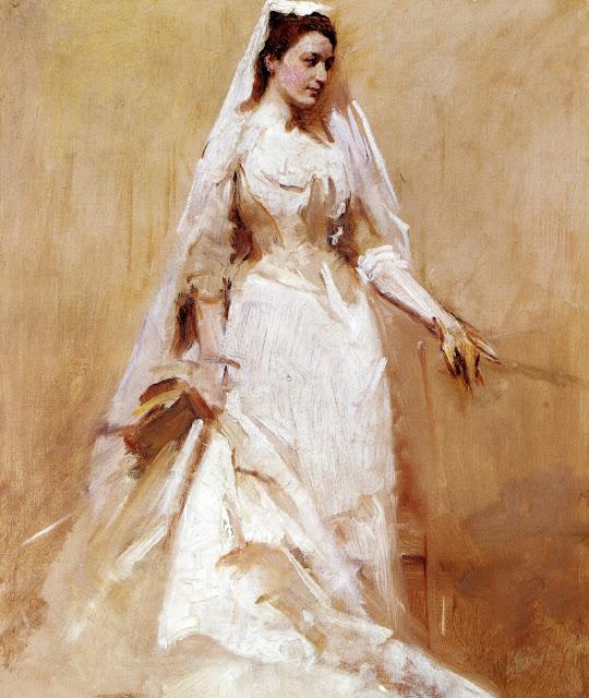 Abbott Handerson Thayer - A Bride