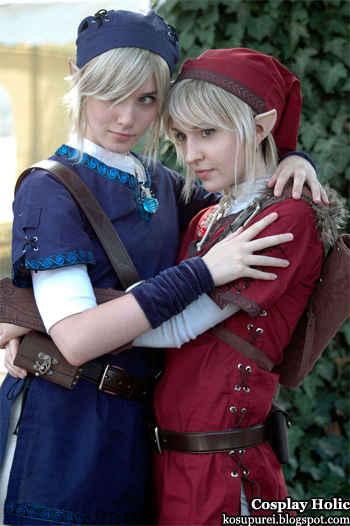 the legend of zelda cosplay - link