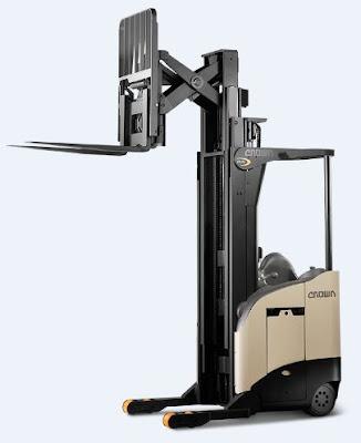 Xe nâng reach truck Crown RR 5700
