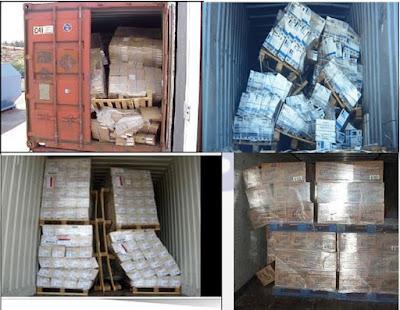Túi đệm khí đóng hàng container