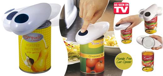 Картинки по запросу Электрический консервный нож Ван Тач One Touch