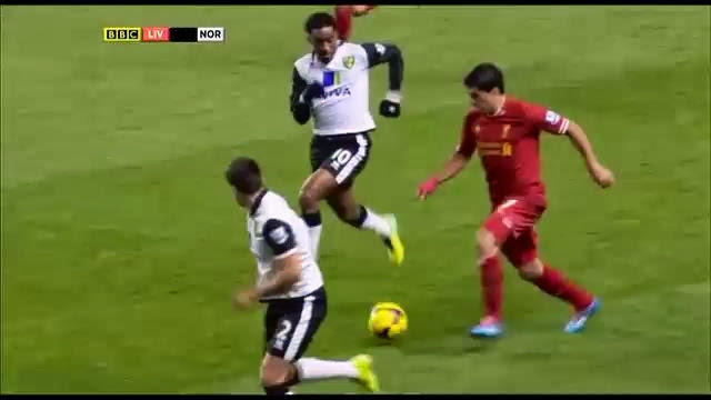 Suarez, Liverpool - Norwich
