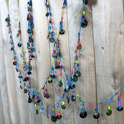 Button Garland by yellowee