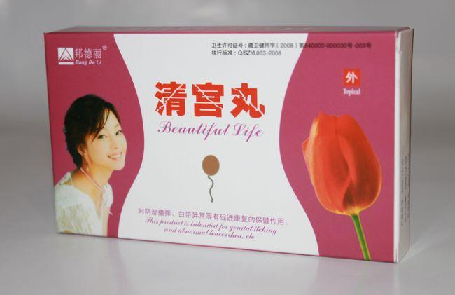 Лечебные китайские тампоны «Beautiful Life» упаковка