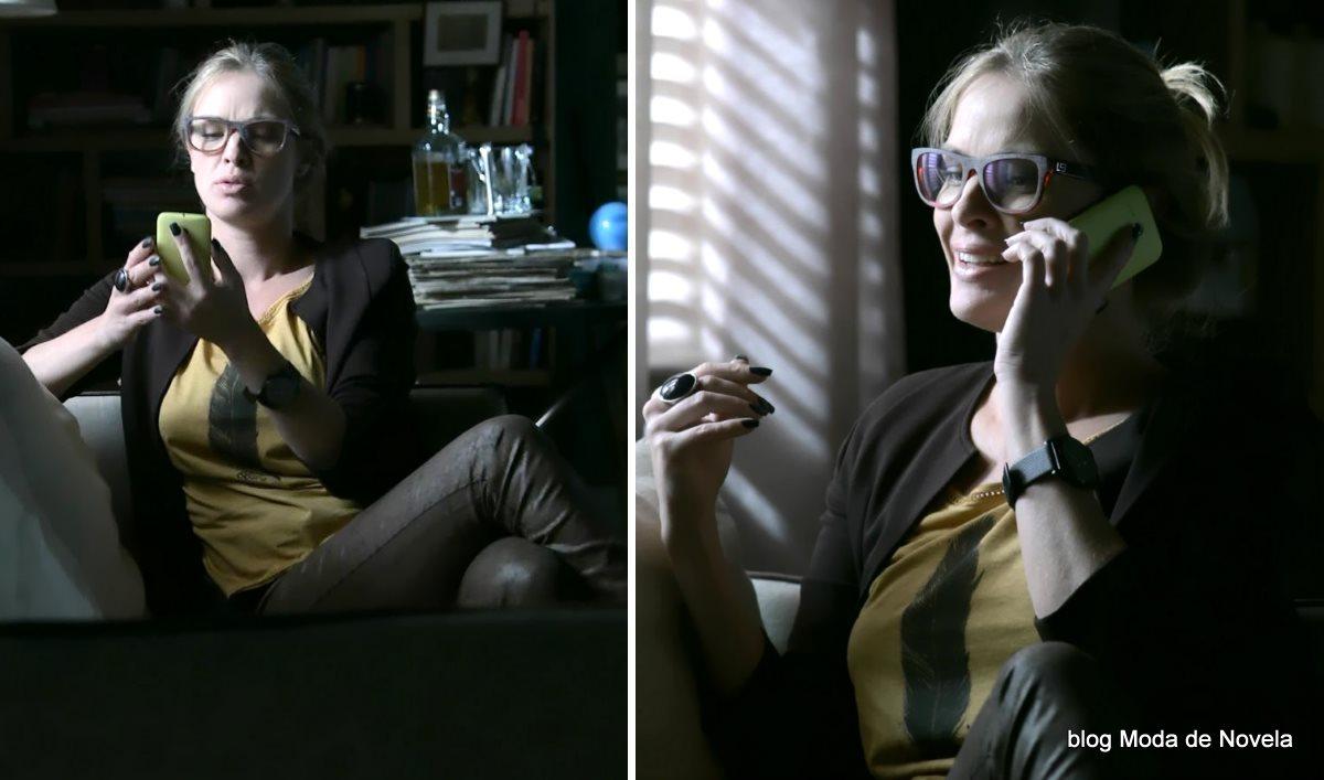 moda da novela Império - looks da Érika dia 2 de agosto