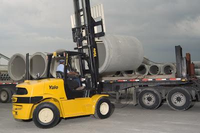Xe nâng diesel Yale 6 - 7 tấn